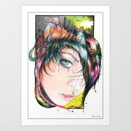 Mind Pollution Art Print