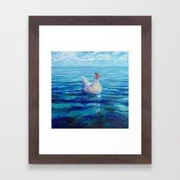 Chicken of the Sea Framed Art Print