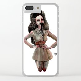 DARLING, I FALL TO PIECES WHEN I'M WITH YOU Clear iPhone Case