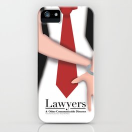 Lawyers & OCD iPhone Case