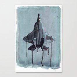 Liquid Steel Canvas Print