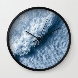 Waves For Surfing {118} Wall Clock