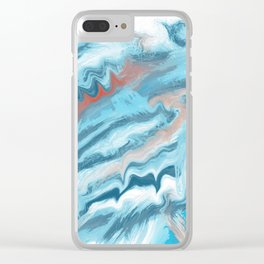 Oceano dei sogni Clear iPhone Case