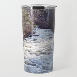 Swollen Creek Runs Wild Travel Mug