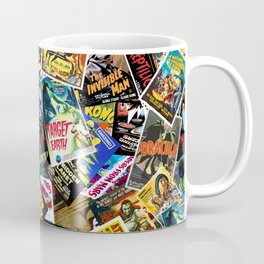 50s Movie Poster Collage #14 Coffee Mug