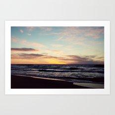 Lake Erie Sunset II Art Print