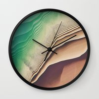 dune Wall Clocks featuring Dune by Jellyfishtimes