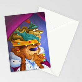 """Prince John & Sir Hiss"" Stationery Cards"