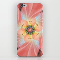 cherry blossom iPhone & iPod Skins featuring Cherry Blossom by Christine baessler