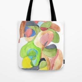 Life and Meaning 11| Abstract Watercolors Tote Bag