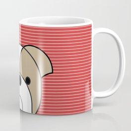 Pop dog english bulldog Coffee Mug