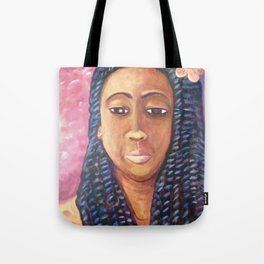 Chocolate princess Tote Bag