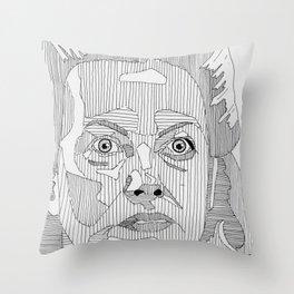 Nurse Ratched. Throw Pillow