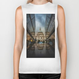 Landmark City (Color) Biker Tank