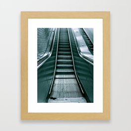 Up or Down? Framed Art Print