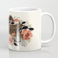 dead Mugs featuring Spangled & Plumed by Teagan White