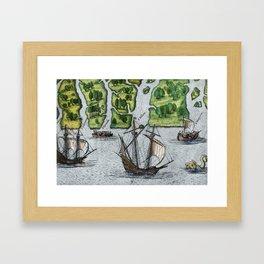 Grand Voyages Framed Art Print