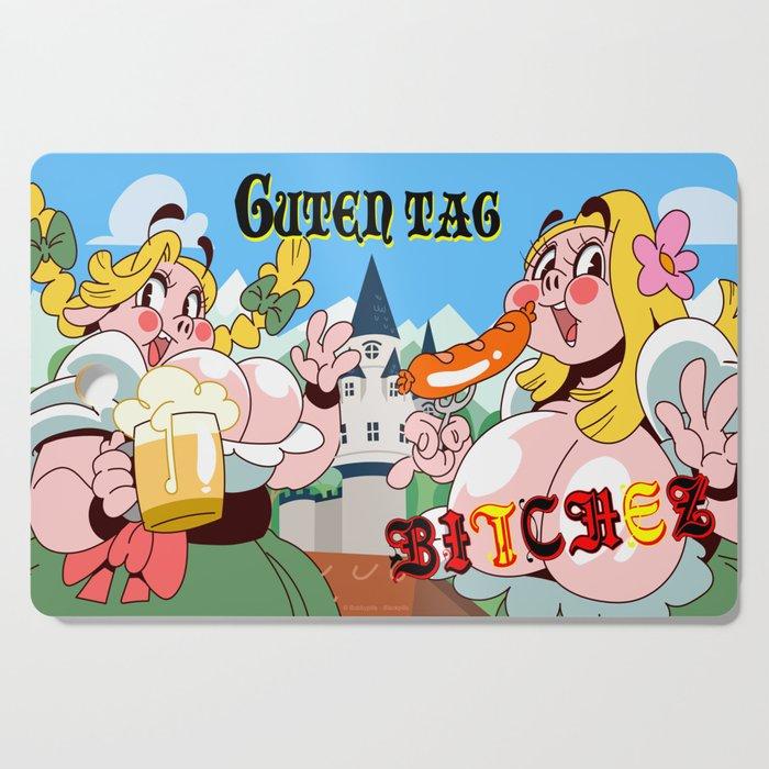Guten Tag Bitches (Peepoodo) Cutting Board