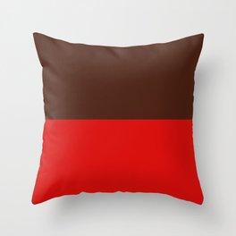Choc Strawberry Throw Pillow