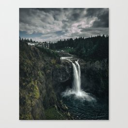 Twin Peaks Great Northern Hotel Canvas Print