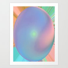 Bowled Over Art Print