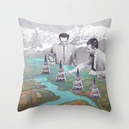 Architectes Throw Pillow