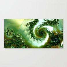 Amongst the seaweed Canvas Print