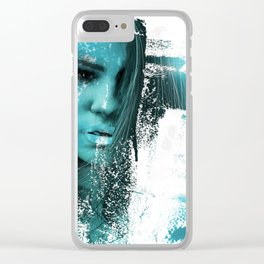 Hit or Miss Clear iPhone Case