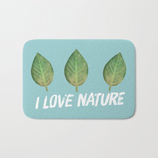 leaf-151 Bath Mat