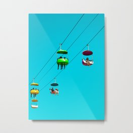 jelly bean in the sky Metal Print