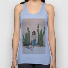 Waiting By Unisex Tank Top
