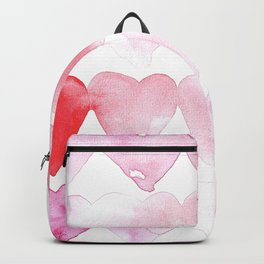 Abstract Hearts Backpack
