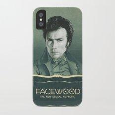 facewood iPhone X Slim Case
