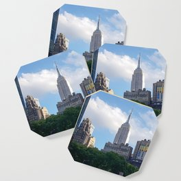 Empire State Building from Bryant Park Coaster