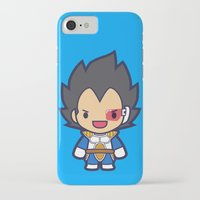 vegeta iPhone & iPod Cases featuring FunSized Vegeta by Papyroo