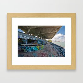 Graffiti Venue Framed Art Print