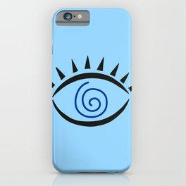 Hypnotic Greek eye | good luck | luck charm iPhone Case
