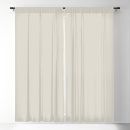 Best Seller Off White Single Solid Color Coordinates With Balboa Mist OC-27 - Trending Color Blackout Curtain