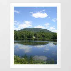 Tupper Lake Art Print