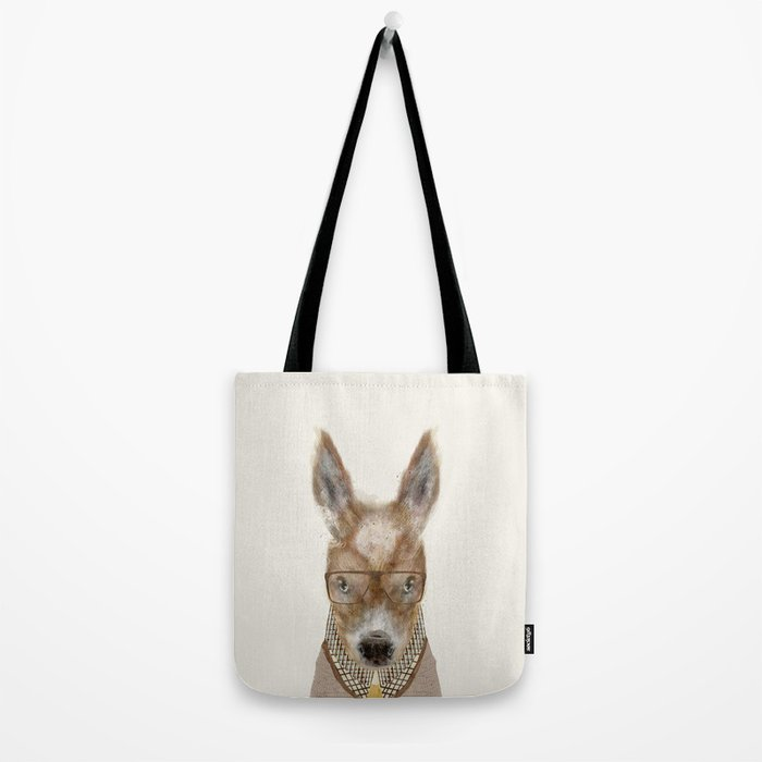 little donkey brown Tote Bag