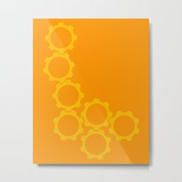 2013:  The Year I went in Circles (vertical) Metal Print