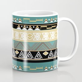 Ethnic stripes. Tribal pattern Indians. Coffee Mug