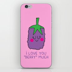I love you berry much iPhone & iPod Skin