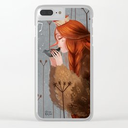 Late November II Clear iPhone Case