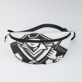 Girl Patriot Lacrosse Player Mascot Fanny Pack