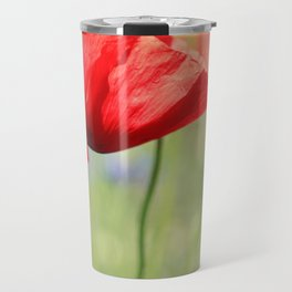 poppy flower no7 Travel Mug
