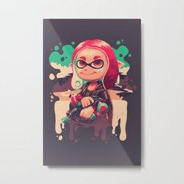 Inkling Lisa Metal Print