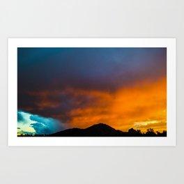 Camelback Mountain at Sunset Art Print