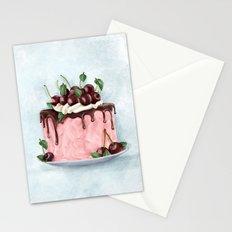 Cherry Cake Stationery Cards