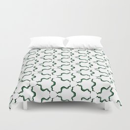 Cute Strange Tentacle Print Duvet Cover